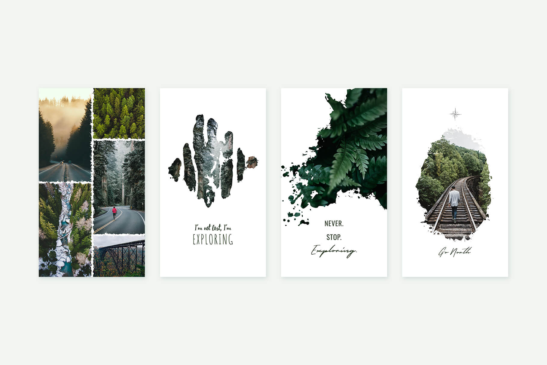 Instagram Stories Forests Pack