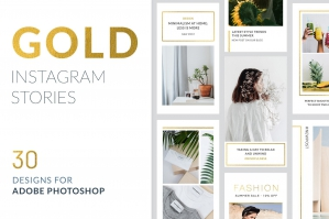 Instagram Stories Gold Pack