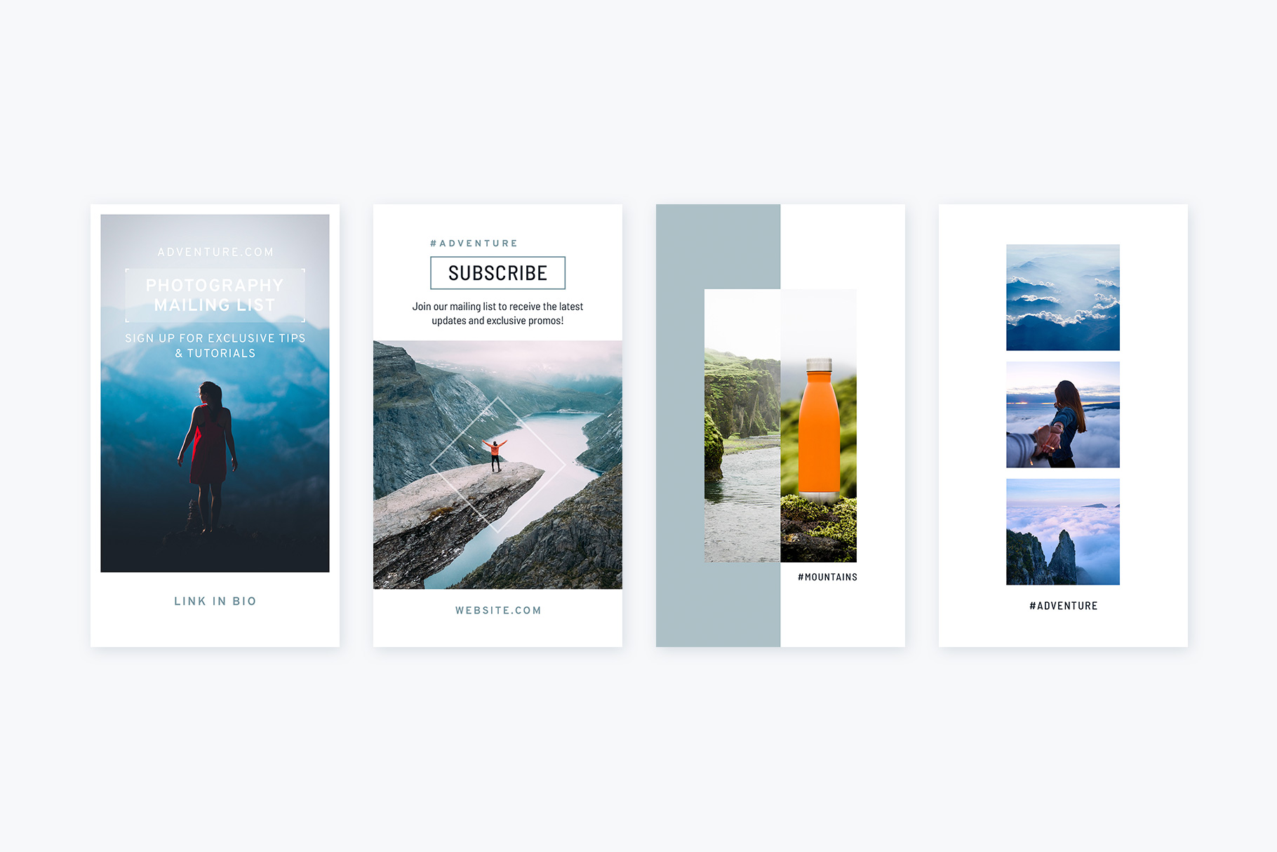 Instagram Stories Mountains Pack