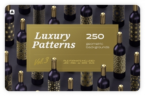 Luxury Patterns - Geometric Backgrounds Collection