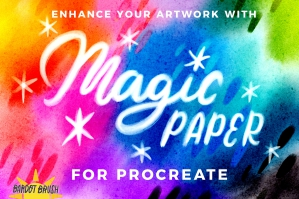 Magic Paper for Procreate