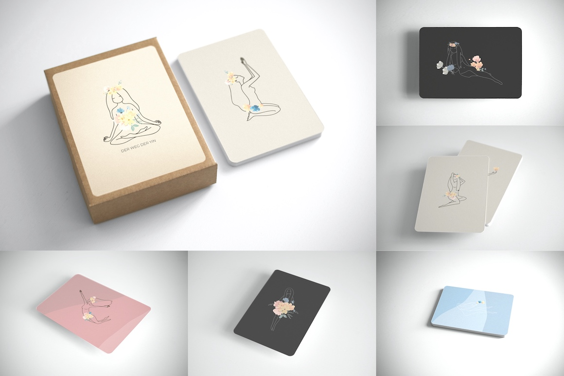 Postcard Mockup A6 Rounded Corners
