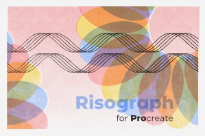 Risograph for Procreate