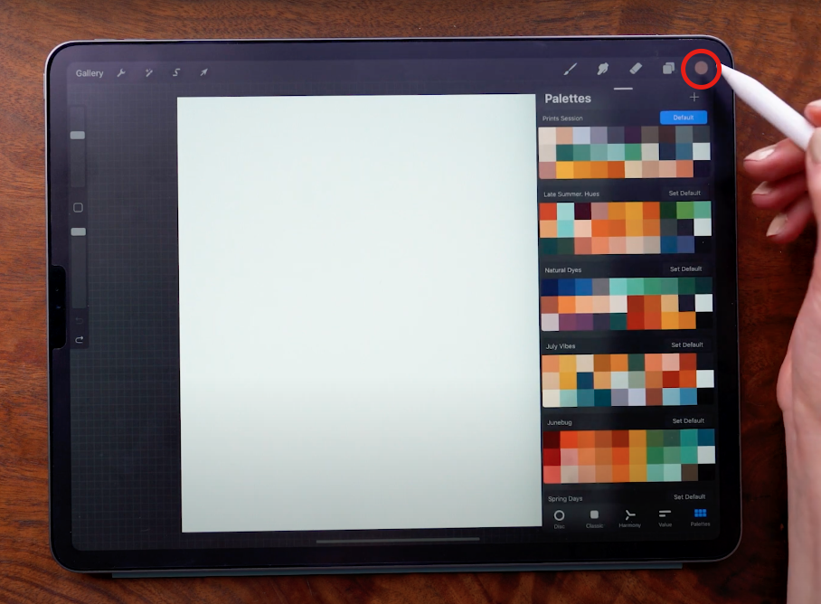 How to Design Seamless Repeat Patterns in Procreate With Wooly Pronto