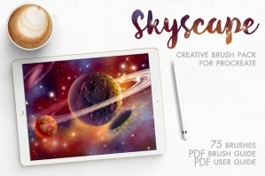 Skyscape Creative Toolkit for Procreate