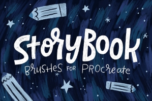 Storybook Brushes for Procreate