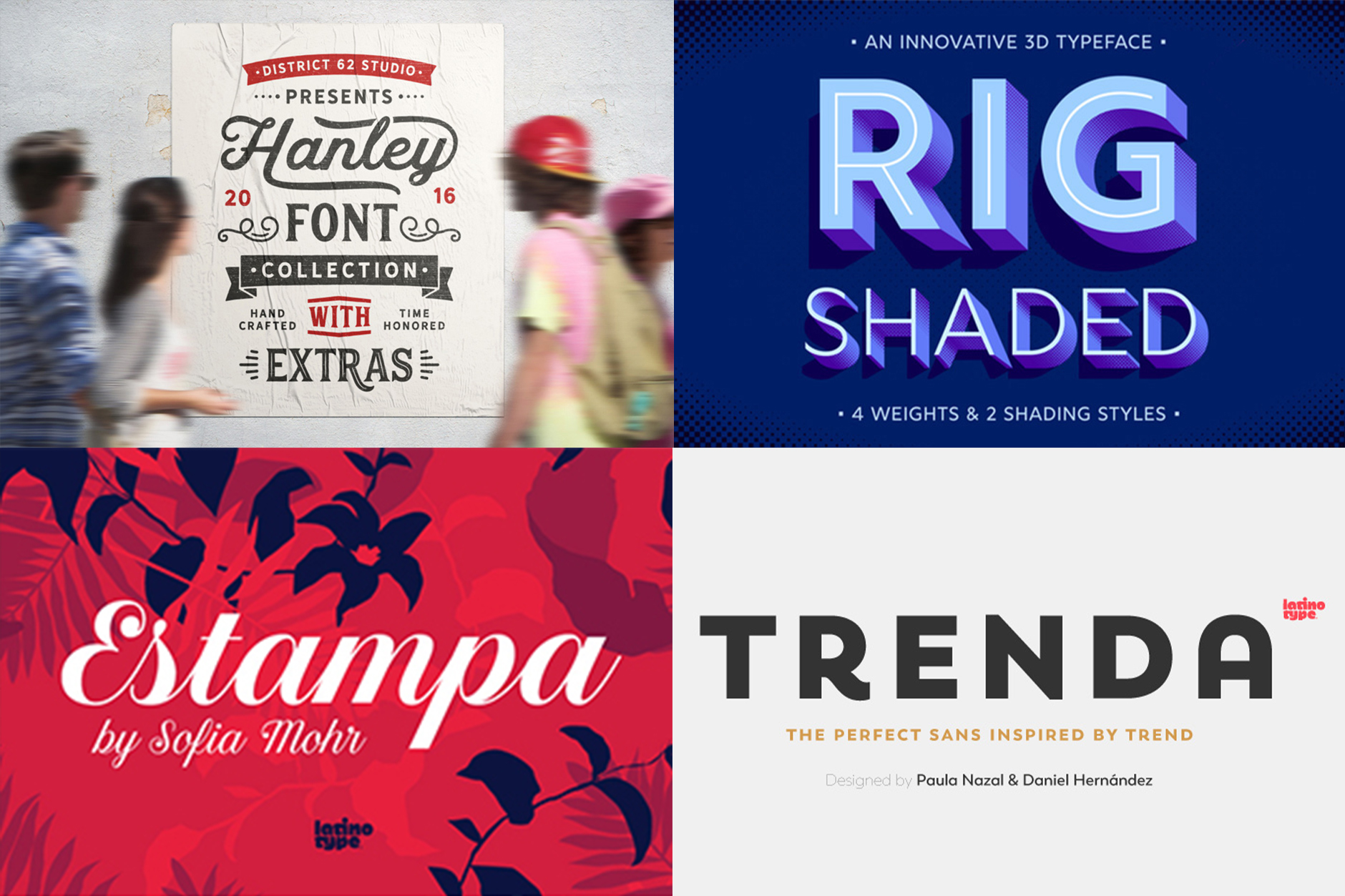The Essential, Popular Fonts Collection - Re-Run
