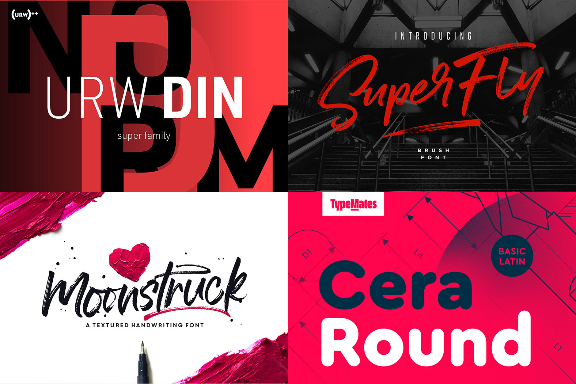 The Exceptional, Best-Selling Font Selection - Re-Run