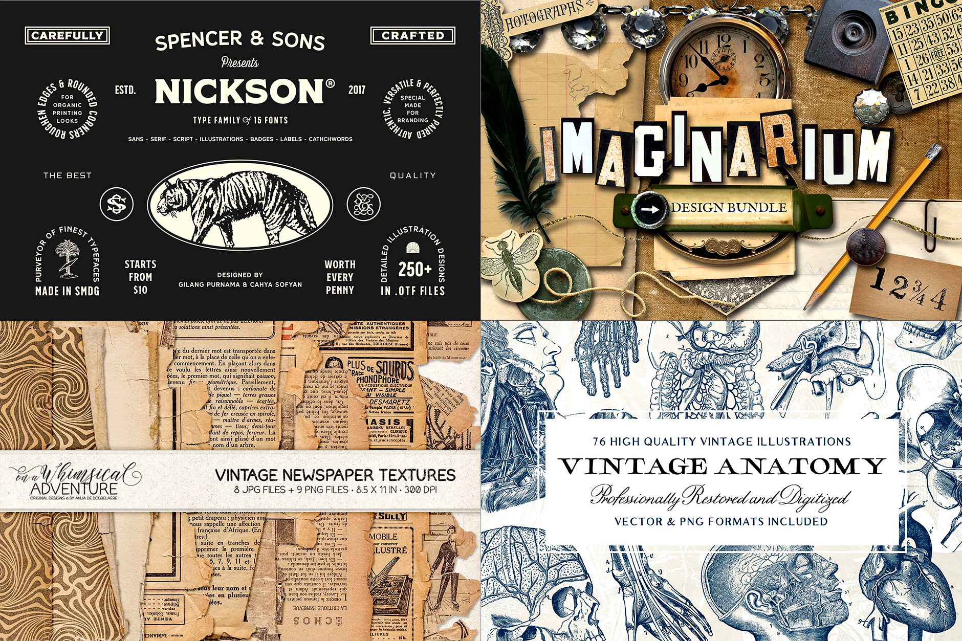 The Timeless Vintage Design Bundle - Re-Run
