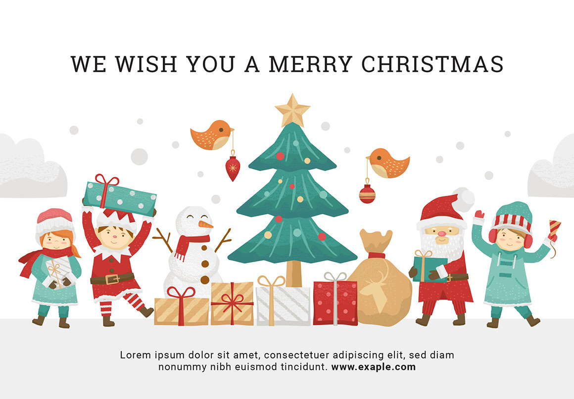 90+ Christmas Vector Graphics Pack in PSD & Vector