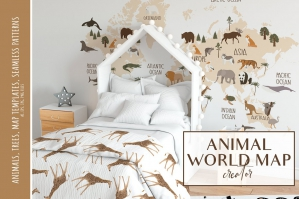 Animal World Map Creator