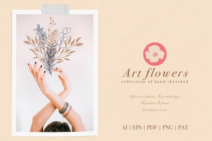 Art Flowers Collection