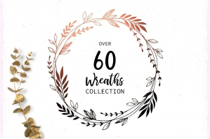 Big Wreaths Set - Laurel Wreath
