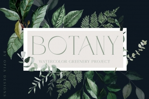 Botany - Greenery Collection