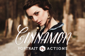 Cinnamon Portrait Actions
