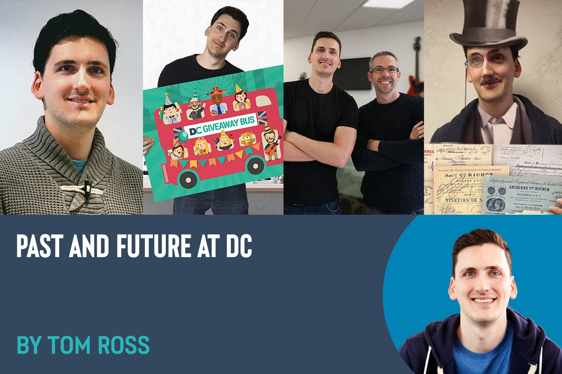 Cover - Past and Future at DC