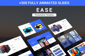 Ease Animated Multipurpose Powerpoint Presentation
