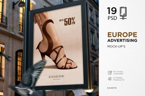 Europe Advertising Mock-Up