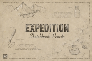Expedition Sketchbook Pencils for Procreate