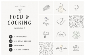 Food & Cooking Branding Pack