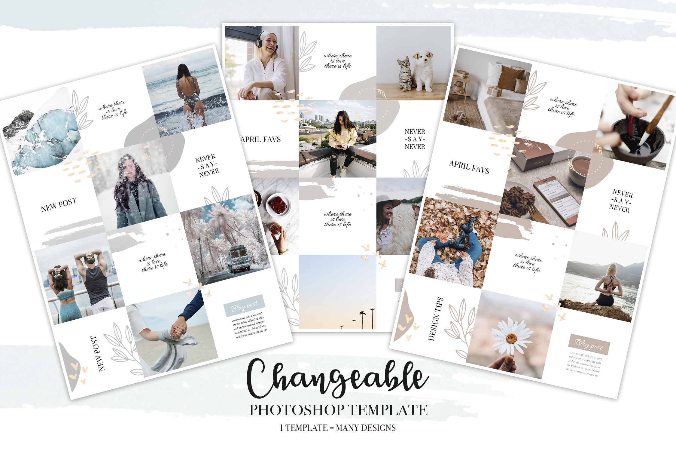 Instagram Feed Puzzle Template V.2