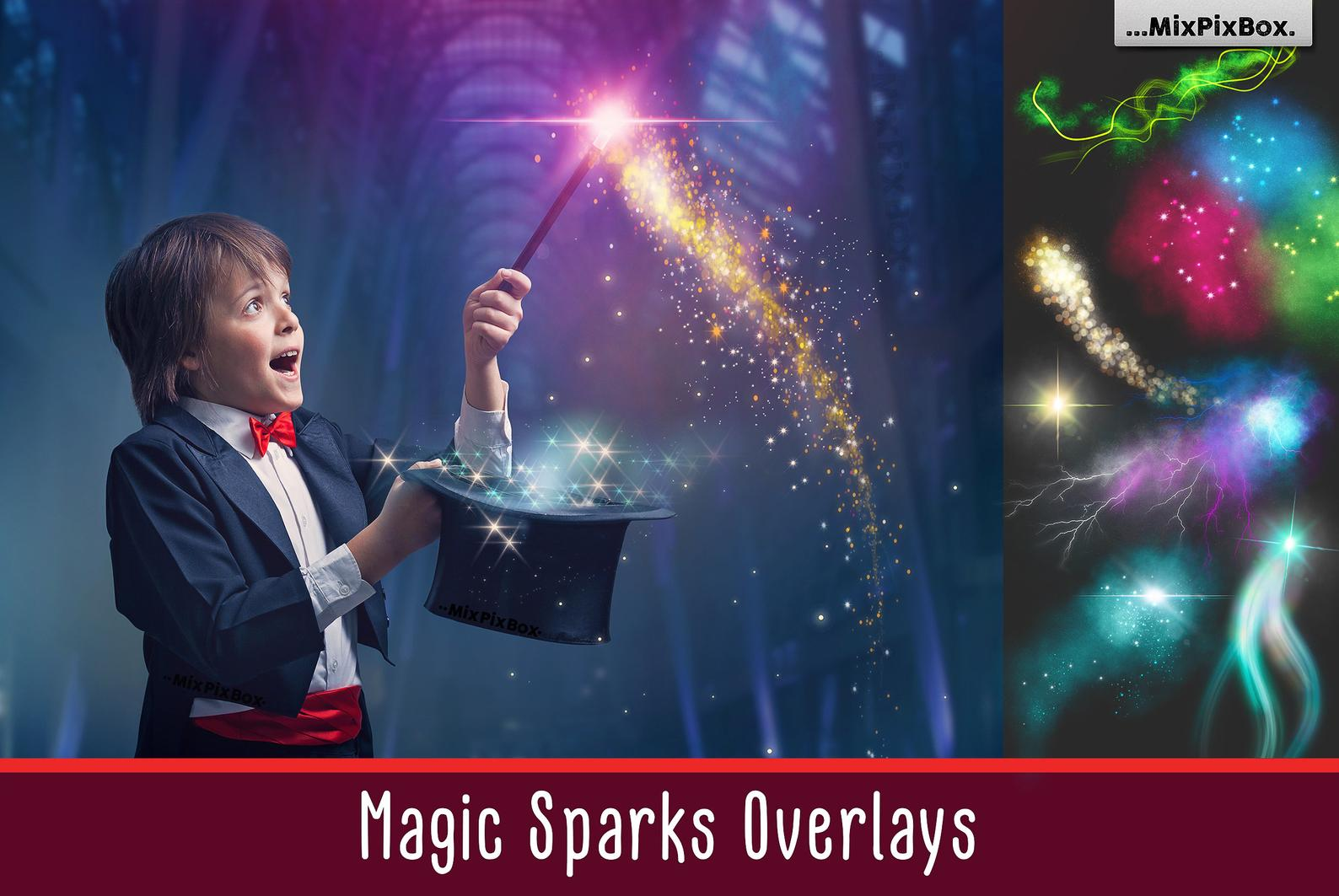 Magic Sparks Overlays