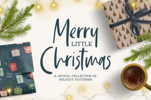 Merry Little Christmas Patterns