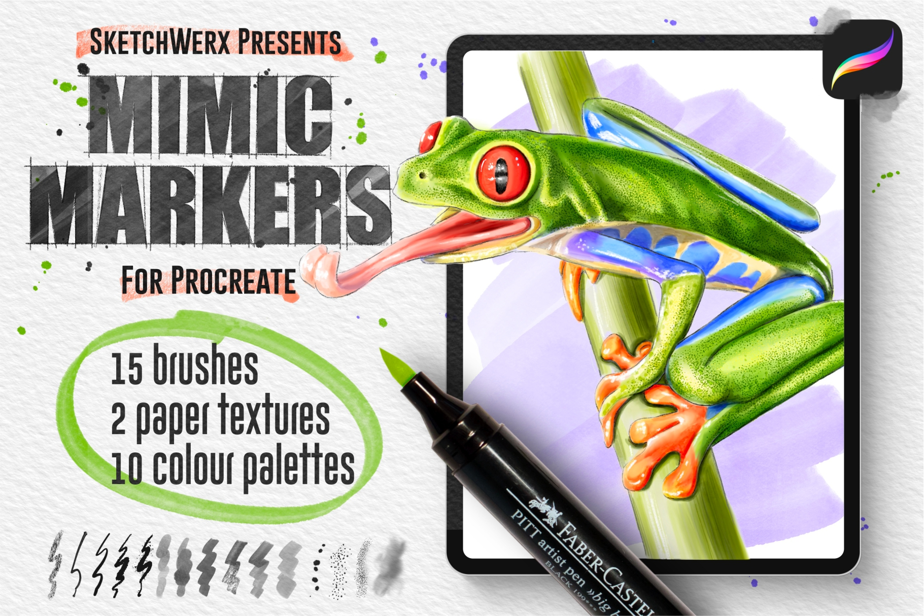 Mimic Markers for Procreate