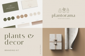 Plants & Decor Brand Kit