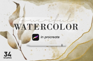 Powerful Watercolor Kit
