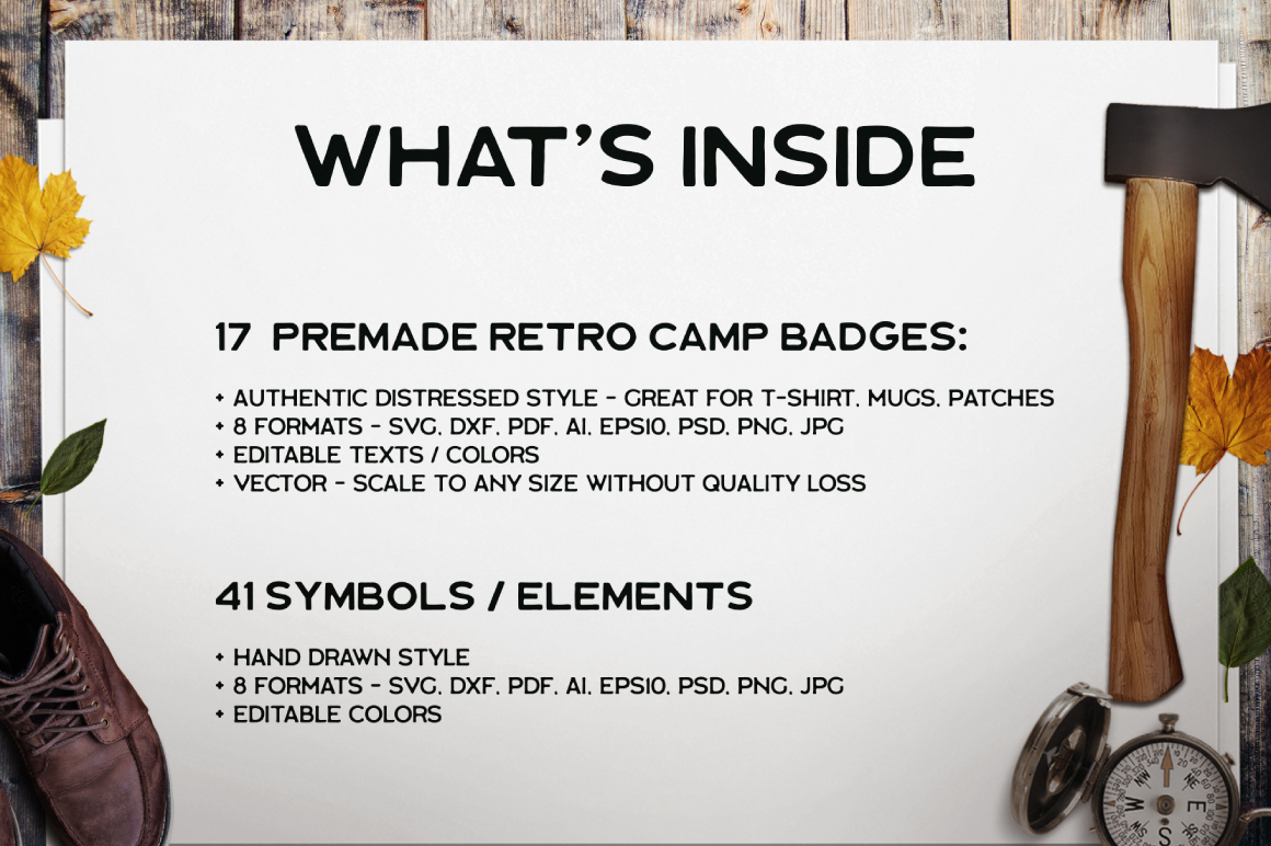 Retro Camp Badges / Patches Part 4