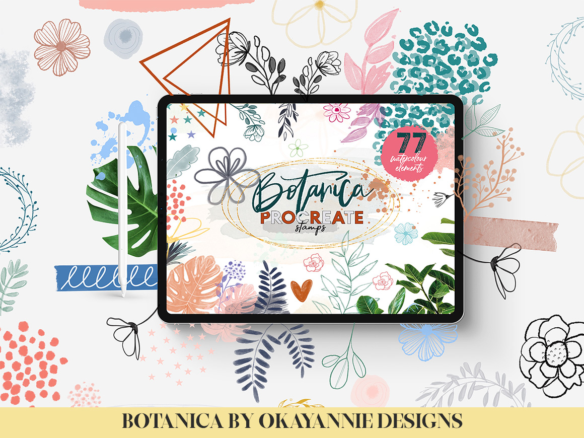 Say It With Flowers Bundle Pack for Procreate