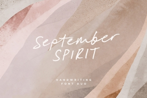 September Spirit Font Duo