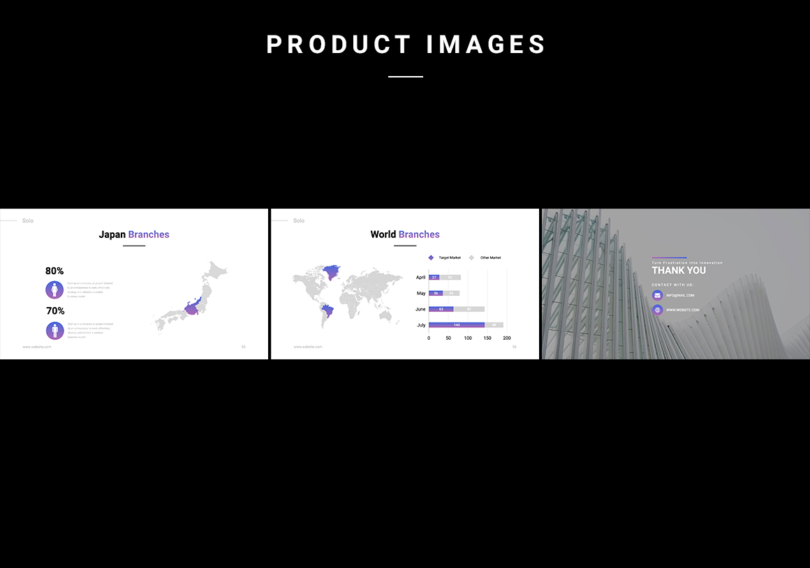 Solo Startup Pitch Deck Powerpoint Template