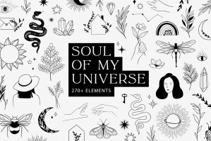 Soul of my Universe - Magic Logo Set