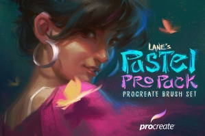 The Pastel Pro Pack: Procreate Brush Set