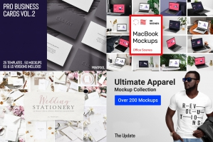 The Ultimate Versatile Mockups Library