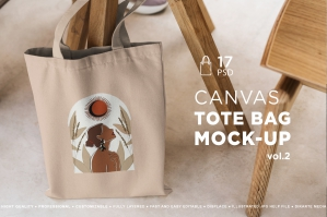 Tote Bag Mock-Up Lifestyle Vol.2