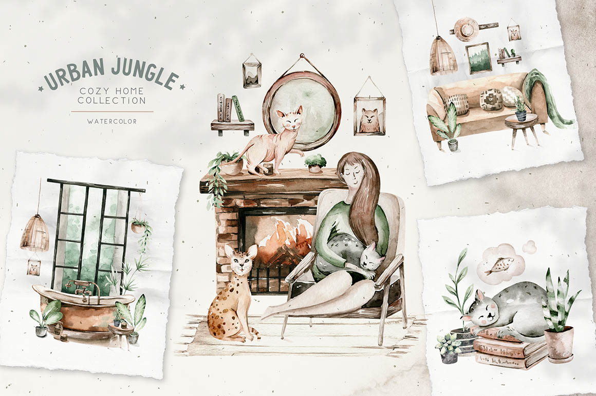 Urban Jungle Huge Collection