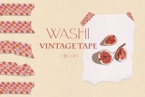 Washi Vintage Tape Collection