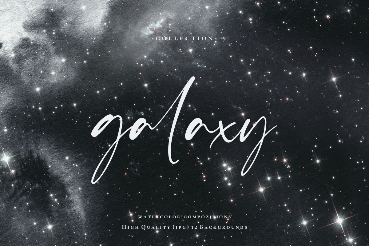 Watercolor Galaxy Backgrounds 2