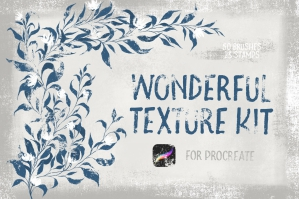 Wonderful Texture Kit for Procreate
