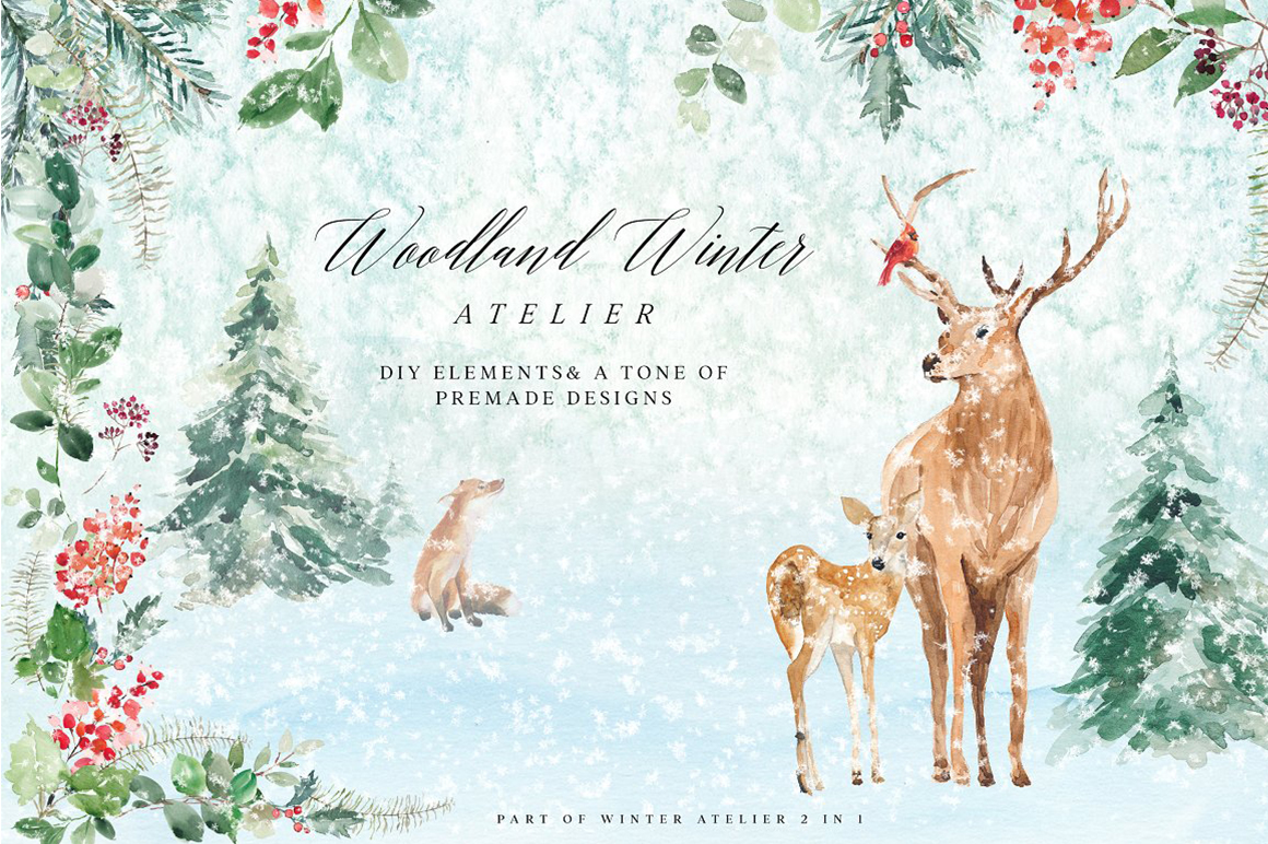 Woodland Winter Atelier