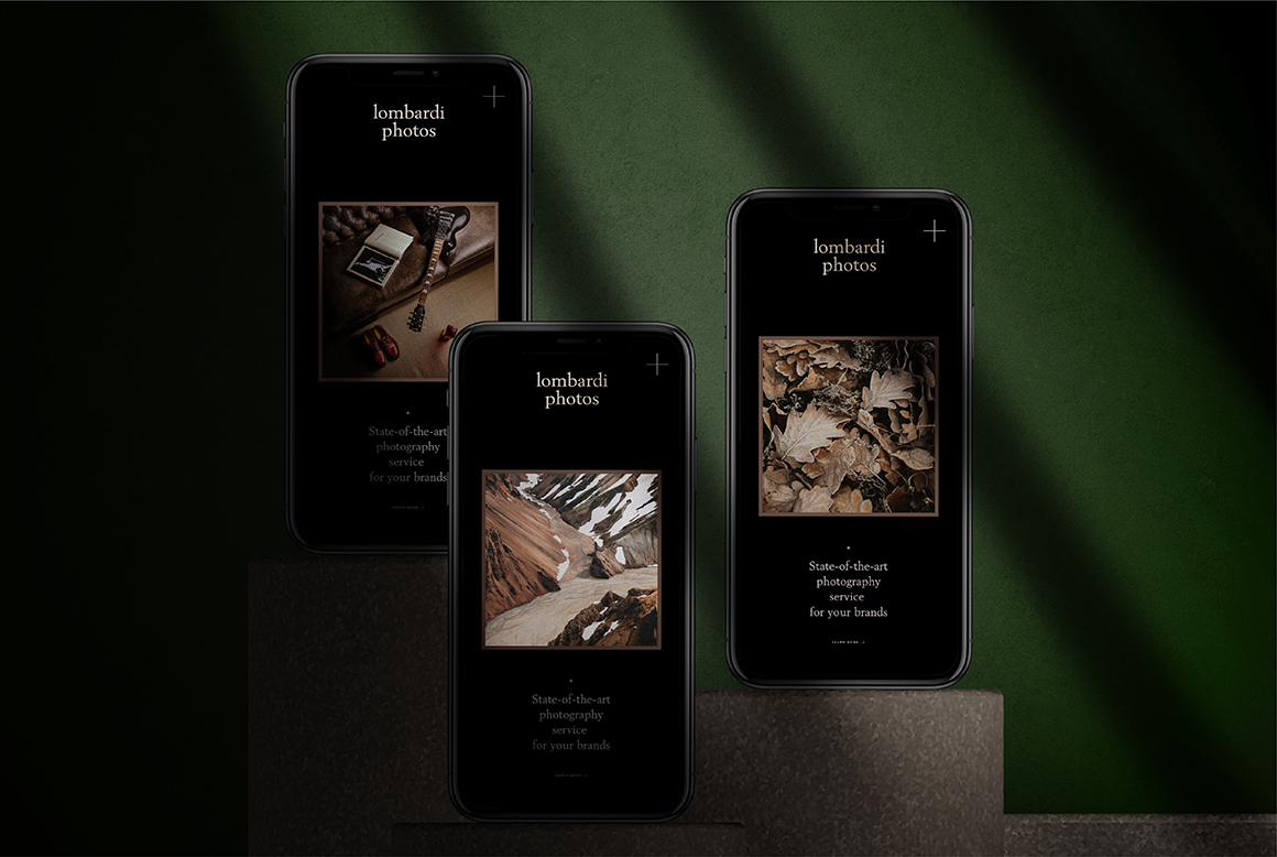 iPhone iPad Mockups - Dark Mode