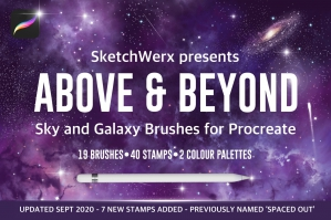 Above and Beyond - Sky and Space Brushes