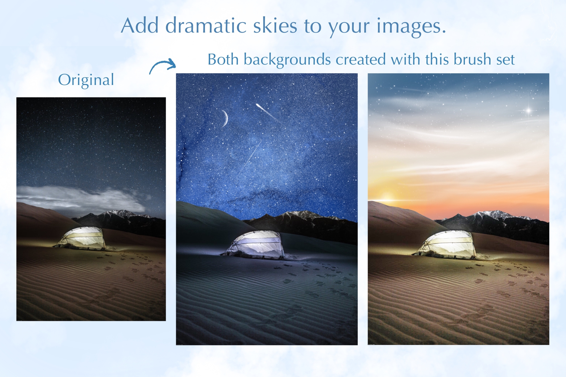 Above and Beyond - Sky & Space Brushes