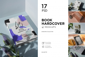 Book Hardcover Shadows Collection