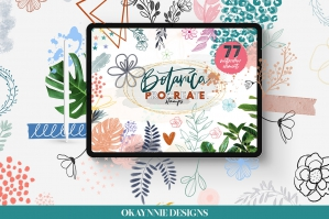 Botanica Watercolour Stamp Brushes