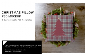 Christmas Textile - Pillow Set