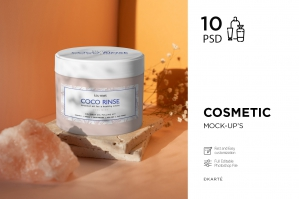 Cosmetic Mockups 10 .PSD